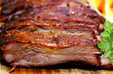 Cap de Piept de Porc la Cuptor cu Sos de Roșii (Friptura de Porc în 11 Pași)<span class=
