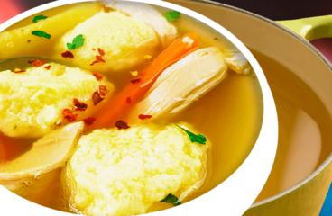 Supă de Pui cu Găluște de Griș în 17 Pași<span class=