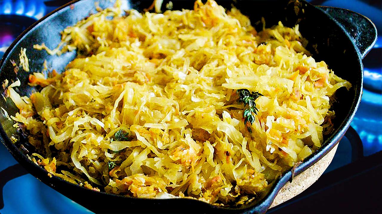Mâncare de Varză Murată Călită